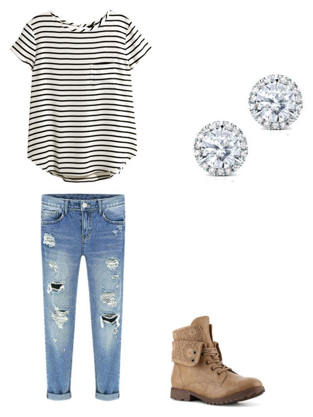 """"" by paigeinez ❤ liked on Polyvore featuring H&M and Kobelli"