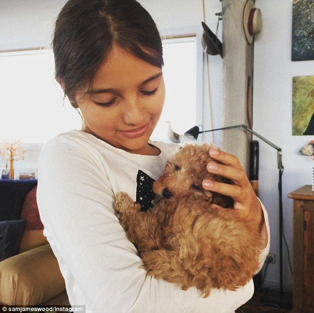 Secretly hitched? Earlier this week, Sam sent fans into overdrive when he shared online a picture of Eve holding a puppy, and appeared to call himself her 'dad' in the caption