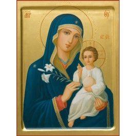 Mother of God the Unfading Bloom, to order, catalog of St Elisabeth Convent. #catalogofgooddeed #motherofgod #theotokos #blessed #icon #order #acrylic #virgin #orthodox