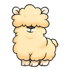 it s so fluffy i m gonna die flufffriends fan of sanrio rh pinterest com cute alpaca clip art alpaca clip art images
