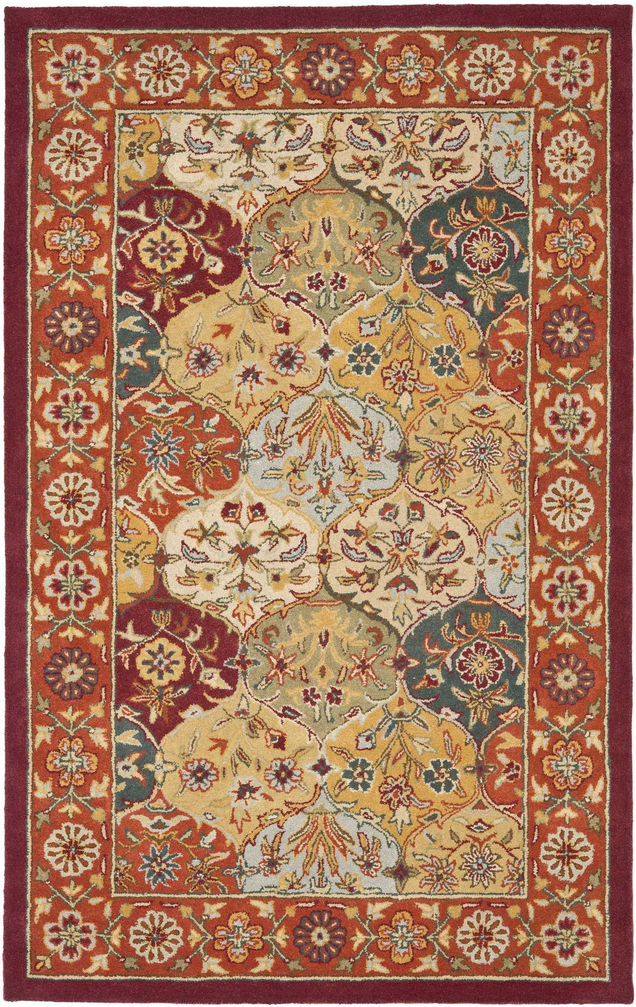 Safavieh Heritage Hg510 Area Rug With Images Persian Rug