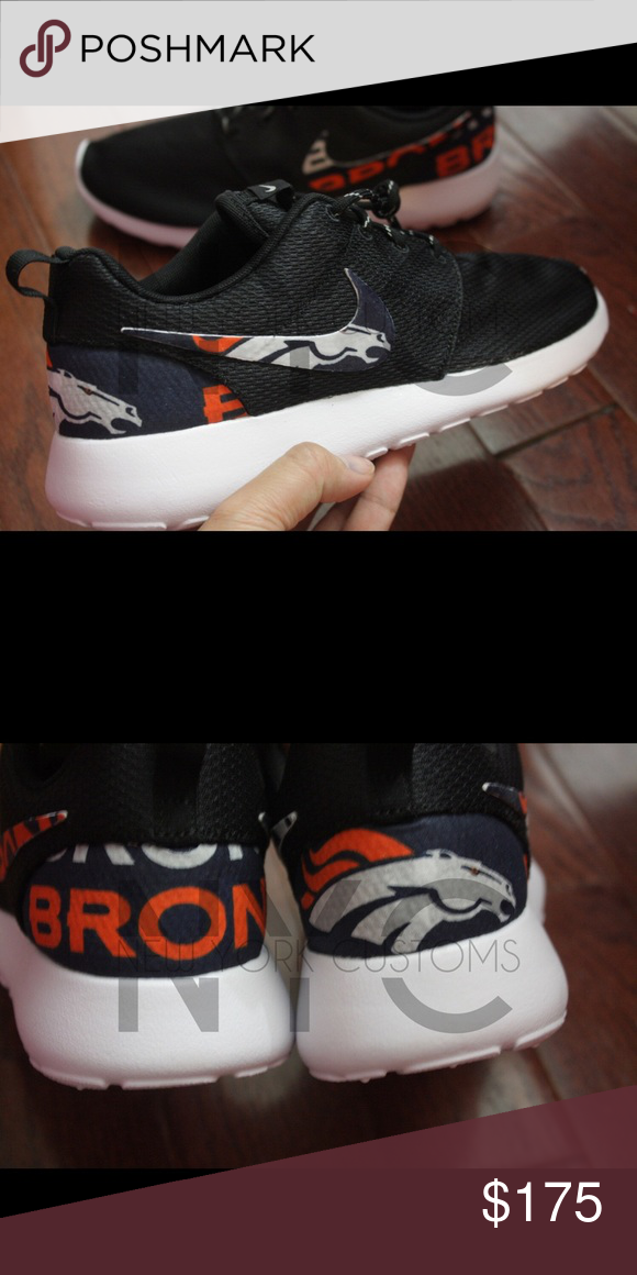 first rate f67b9 3dfc7 Denver Broncos Nike Roshe One Custom Women Our asking price is firm. We won