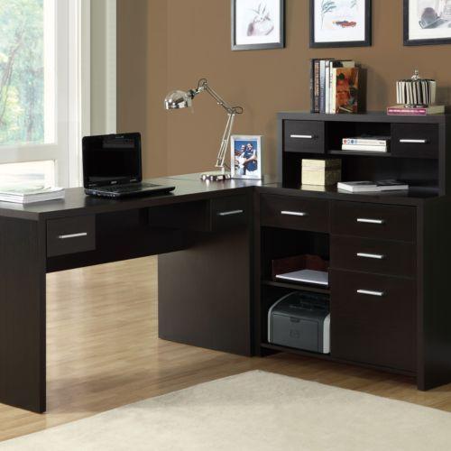 Monarch L Shaped Home Office Desk
