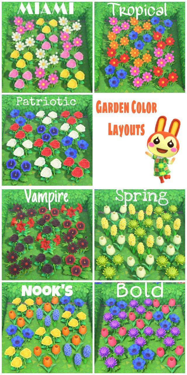 Best flower & gardening layouts in Animal Crossing: New ...