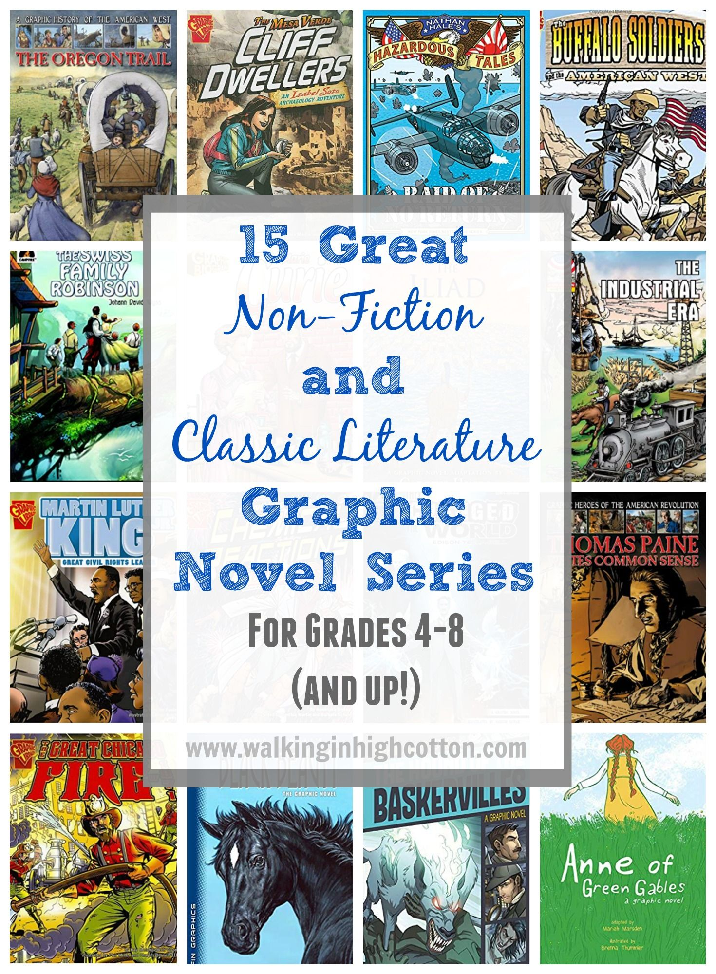 15 great nonfiction and classic literature graphic novel