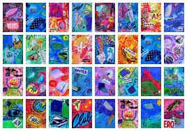 Image Result For Artist Trading Cards Template  Projects To Try