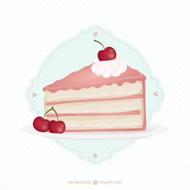 Delicious Cherry Cake Cherry Cake Cake Slice Cake Logo