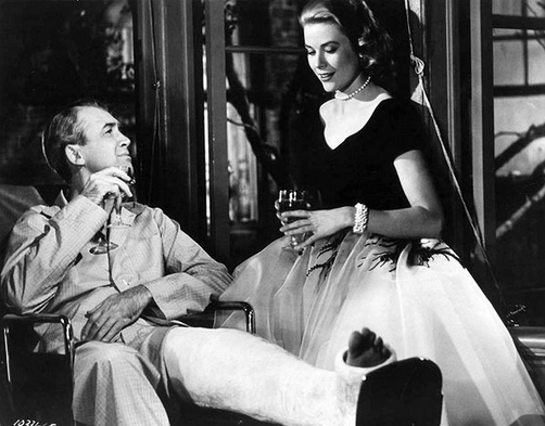 The Rear Window by Alfred Hitchcock, 1954