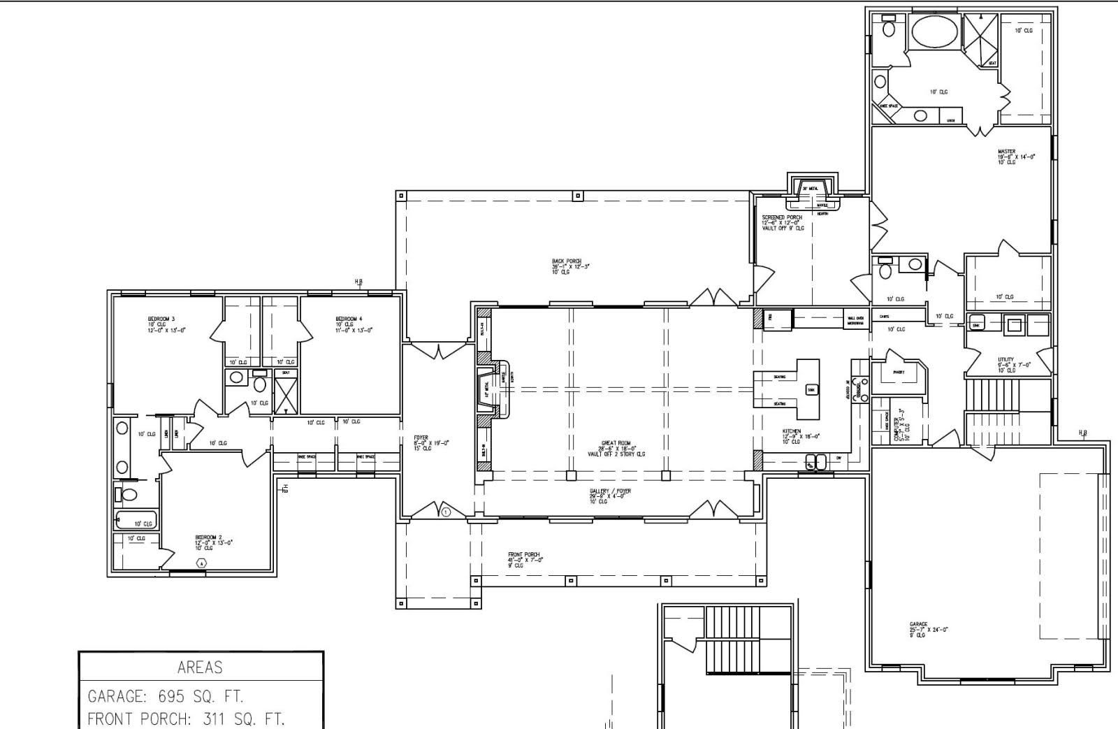 Harrod\'s Creek....smaller :) | House Plans | Pinterest | House ...