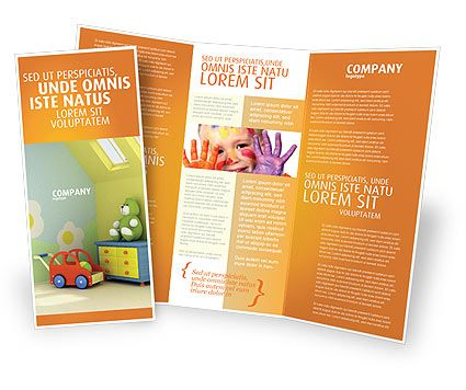 Kindergarten Brochure Templates, Design and Layouts Book - free pamphlet templates