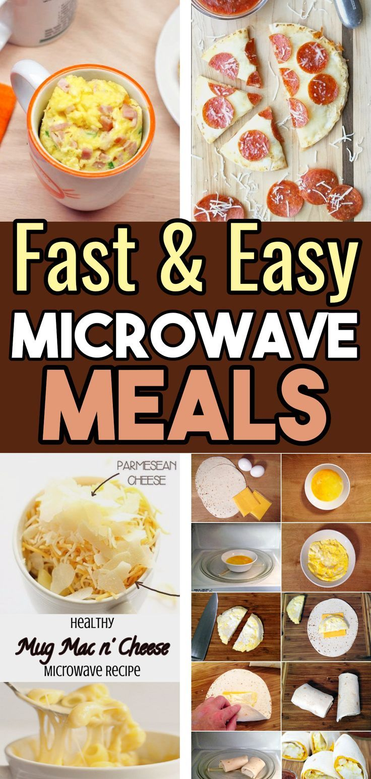 Quick Healthy Microwave Meals - Easy Healthy Microwave Cooking Recipes images