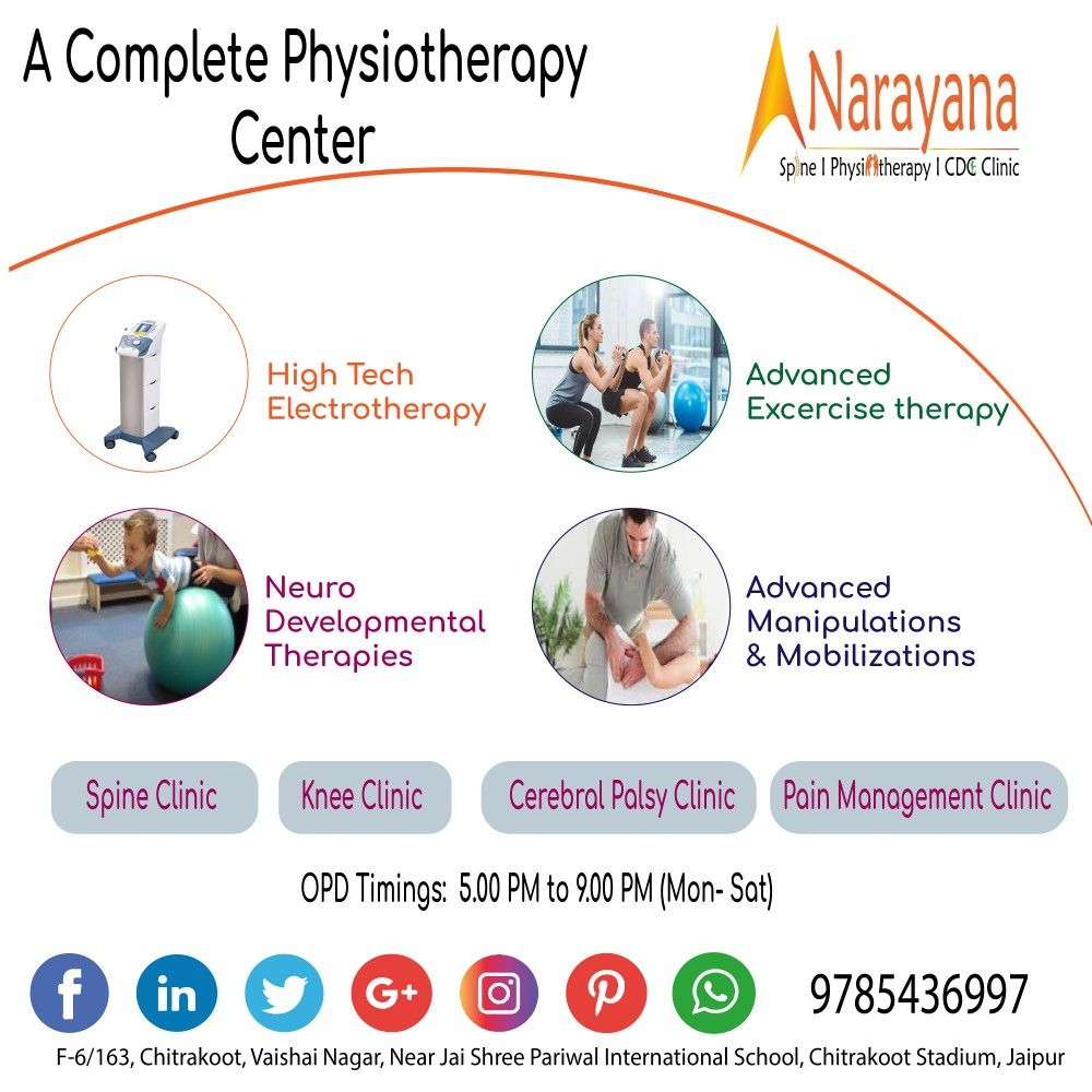 A Complete Physiotherapy Center with all advanced