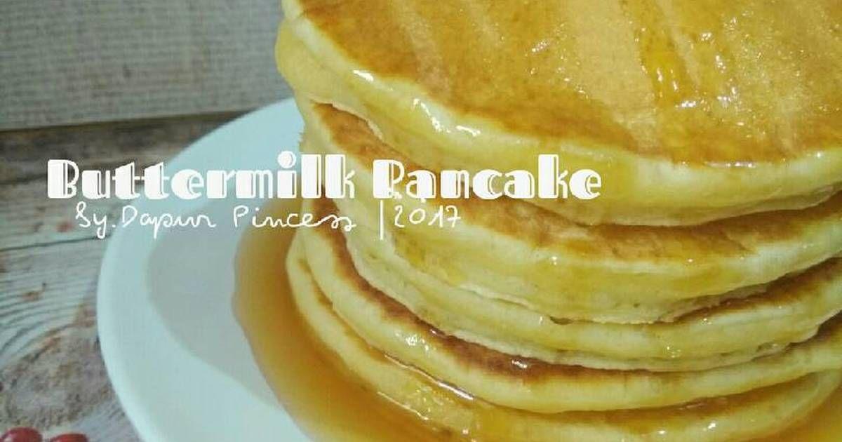 Resep Buttermilk Pancake Oleh Rindaags Dapurpincess Resep Kue Dadar Makanan Resep