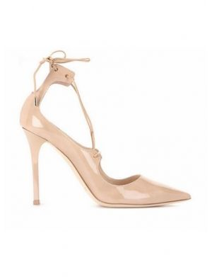 RABIE PVC And Patent Leather High Heel Naked Pumps