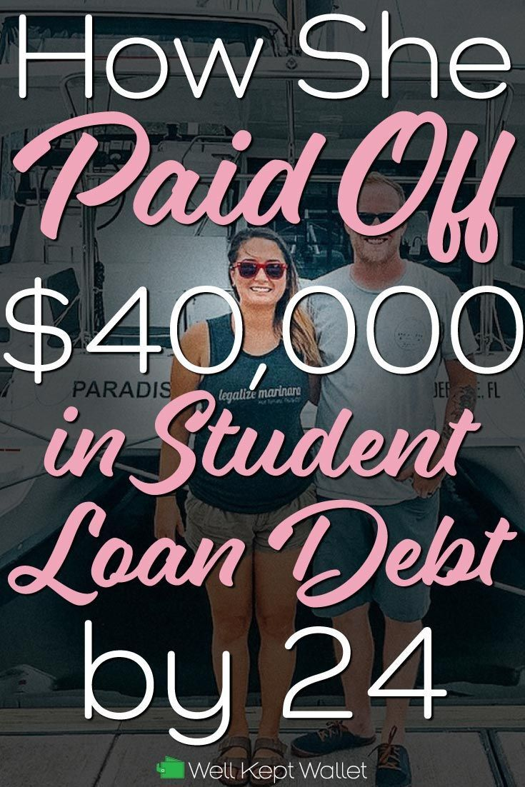 How This Girl Paid Off $40,000 in Student Loan Debt by 24 ...
