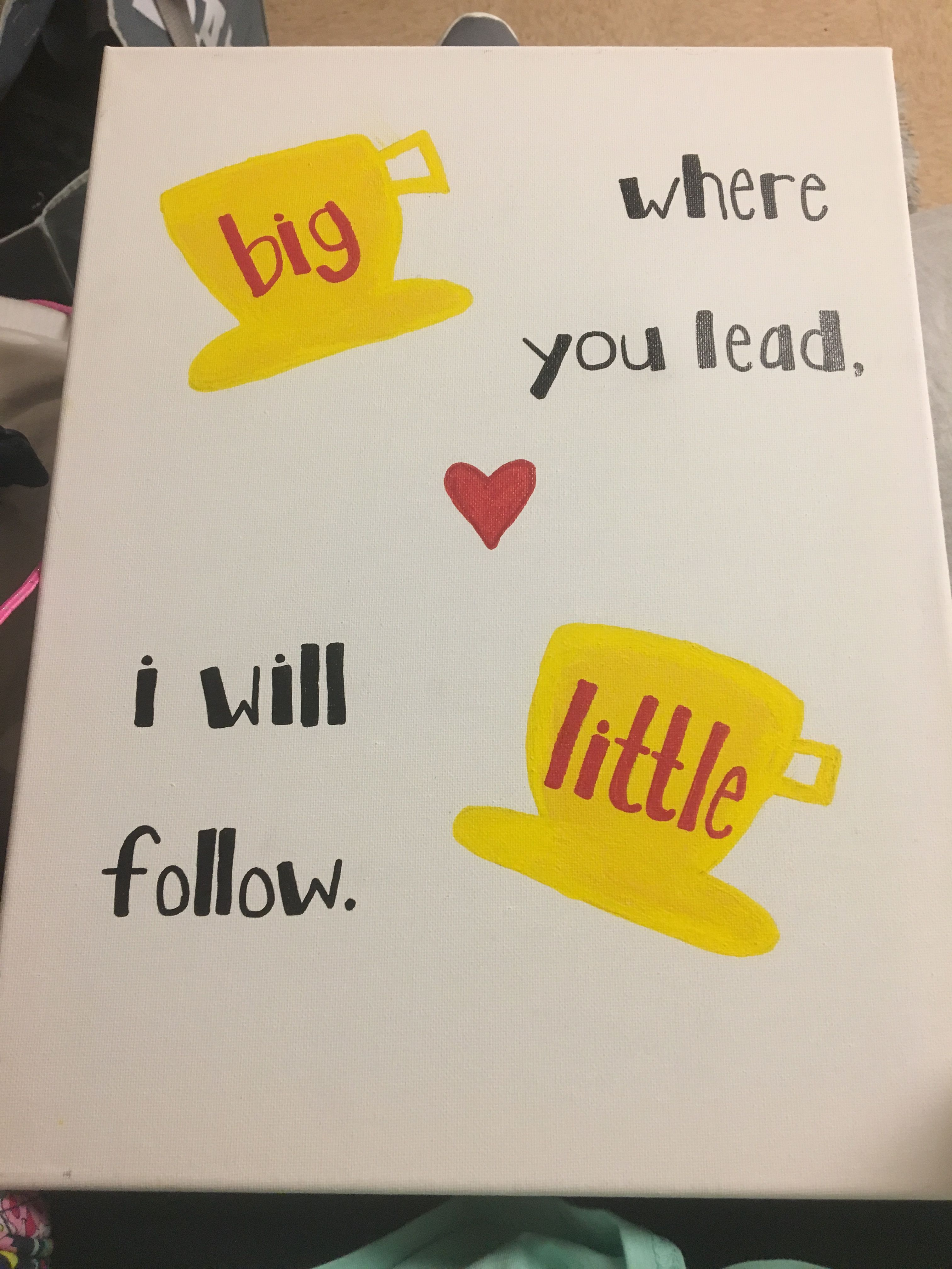 Gilmore Girls Big/Little Canvas More #biglittlecanvas Gilmore Girls Big/Little Canvas More #biglittlecanvas