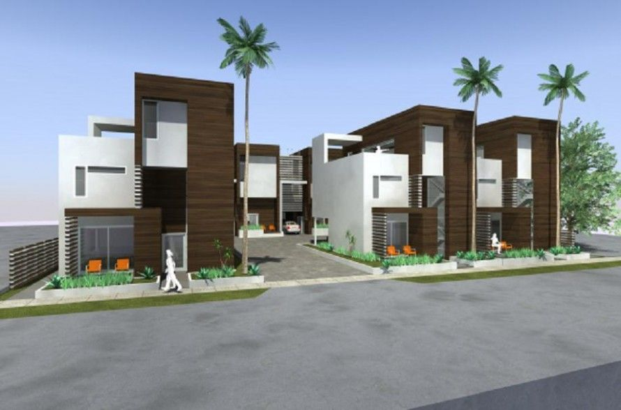 Architecture pics modern home small multi family homes for Modern house design small lot