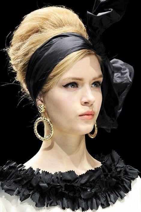 hermosos peinados de moda | tendencia años 60 | maquillaje y