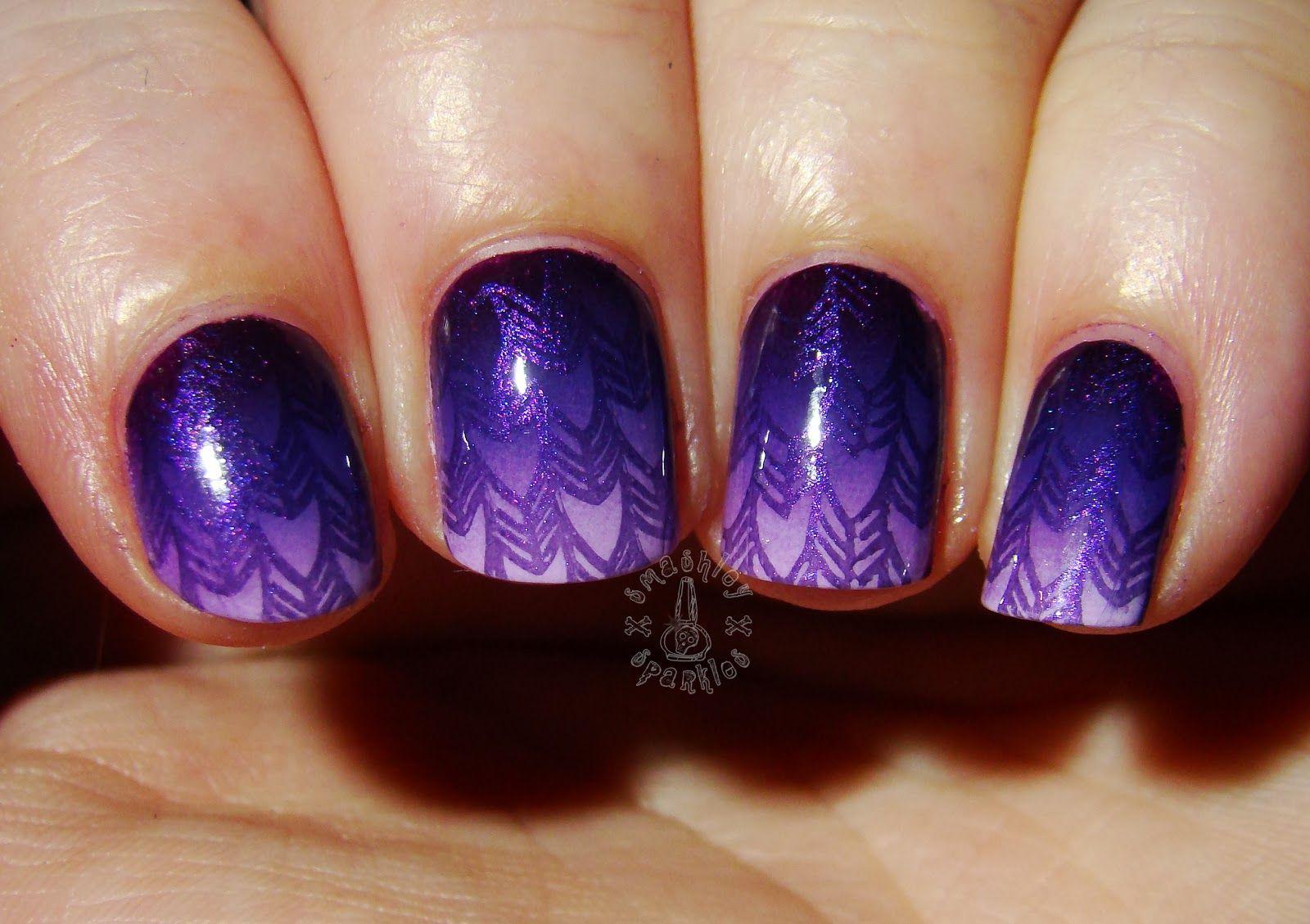 The Digit-al Dozen Does Monochrome: Purple
