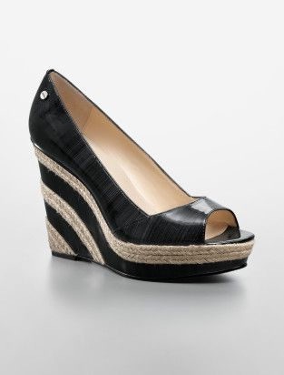 harlo patent wedge...just got these for my birthday! LOVE!
