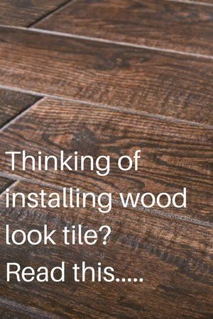 Natural Wood Floors Vs. Wood Look Tile Flooring: Which Is Best For Your  House