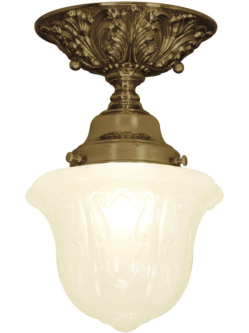 Photo of Charleston Flush Mount Ceiling Light With 3 1/4″ Fitter