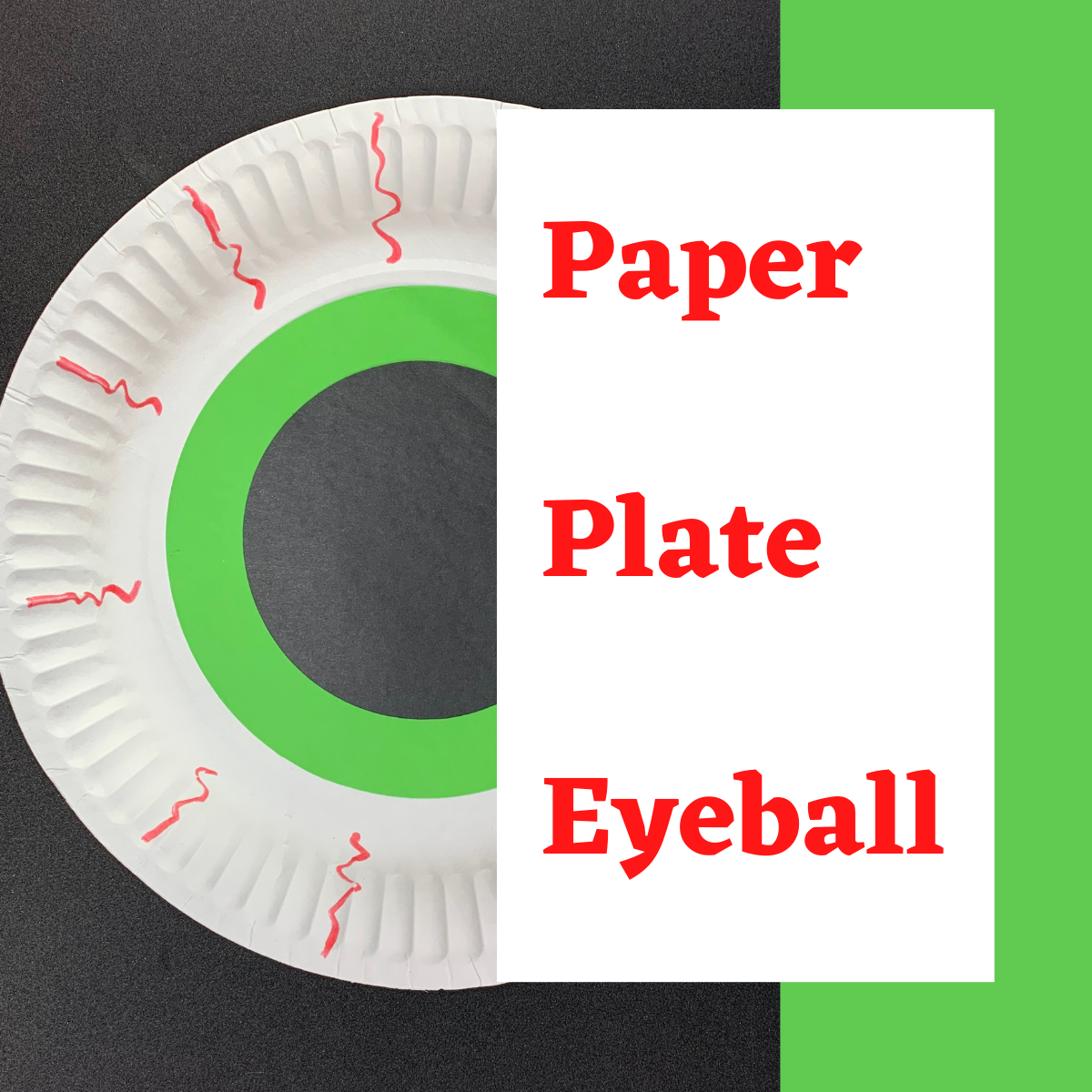 Paper Plate Eyeball Craft Box Crafts Paper Plates