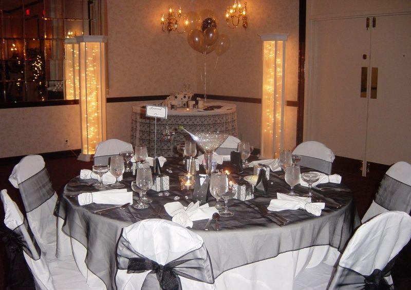 Elegant 50th Birthday Party Favors Elegant Events Party 50th