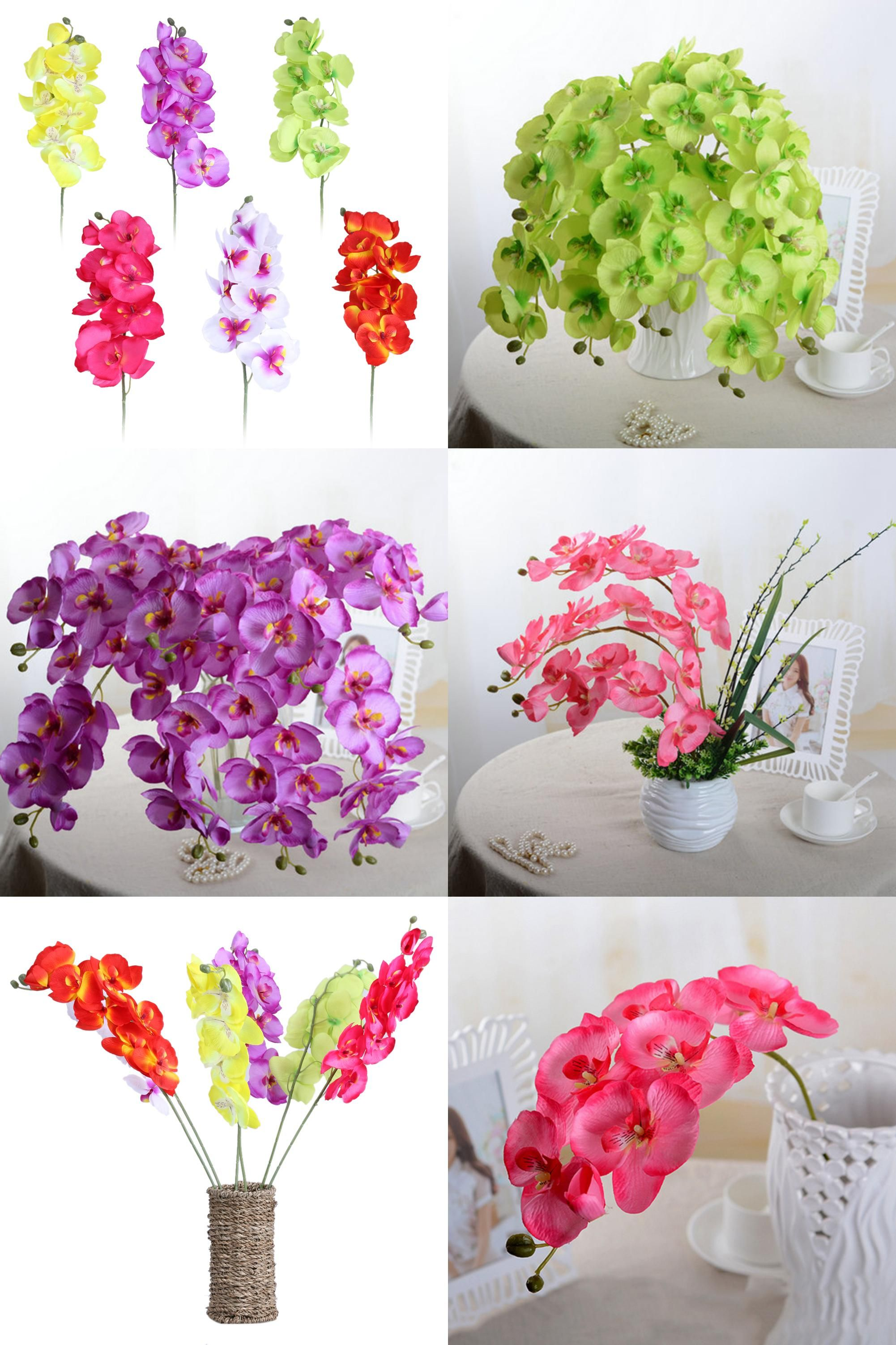 Visit to buy fashion orchid artificial flowers diy artificial visit to buy fashion orchid artificial flowers diy artificial butterfly orchid silk flower bouquet izmirmasajfo Choice Image