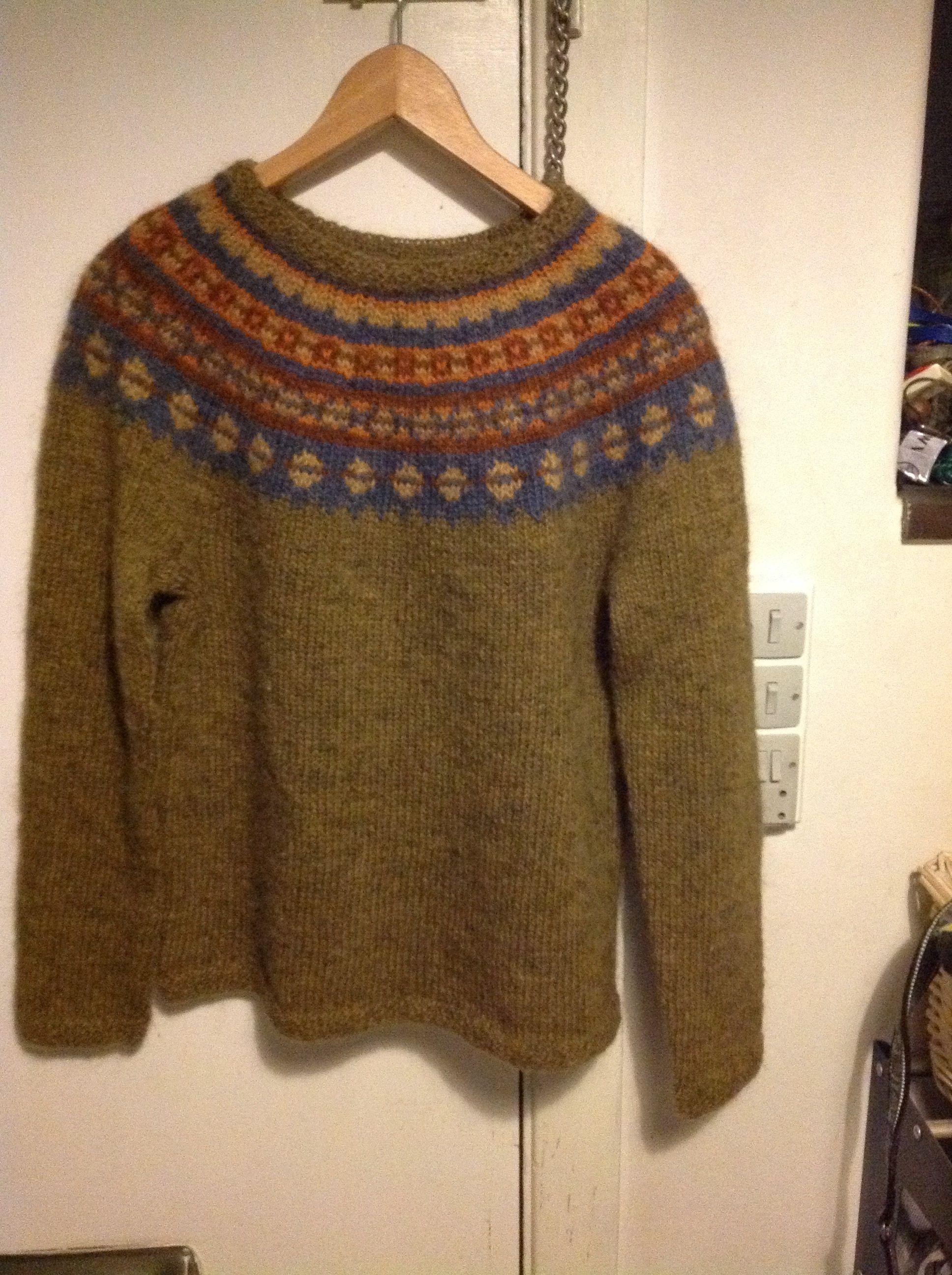 8f9eb2d63 Aftur sweater in Lett lopi