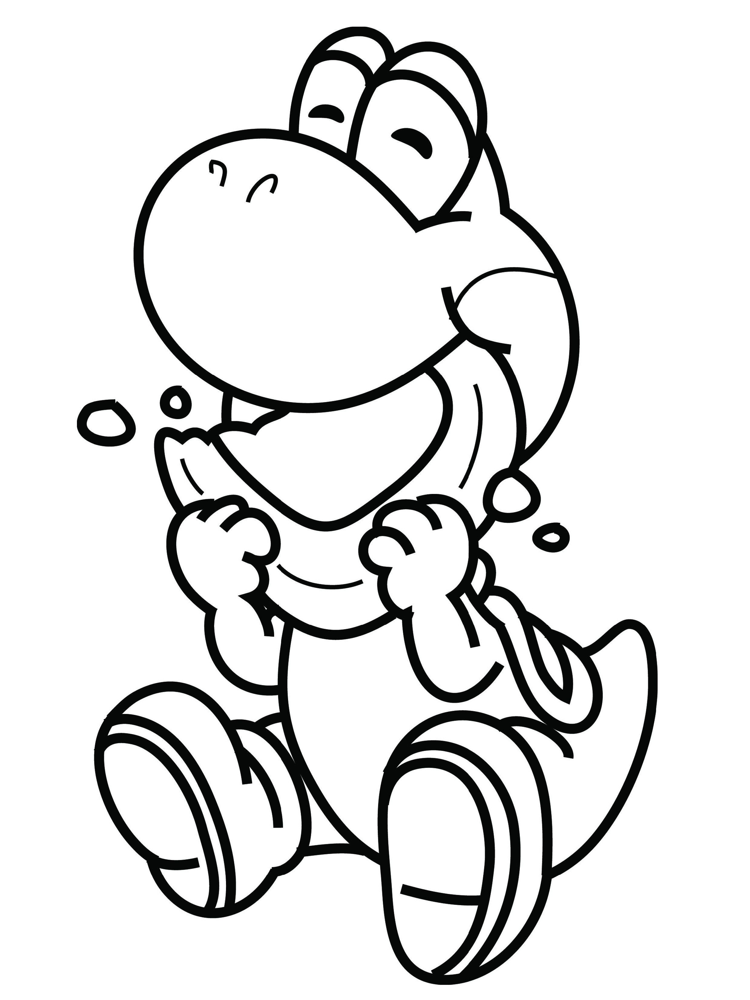 Cute Yoshi Dragon Coloring Pages Super Mario Bross Educative Printable Coloring Pages Super Mario Coloring Pages Yoshi Drawing