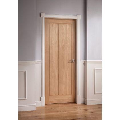 Mexicano Oak Veneer Door - 1981 x 686mm  sc 1 st  Pinterest & Mexicano Oak Veneer Door - 1981 x 686mm | Living room | Pinterest ... pezcame.com