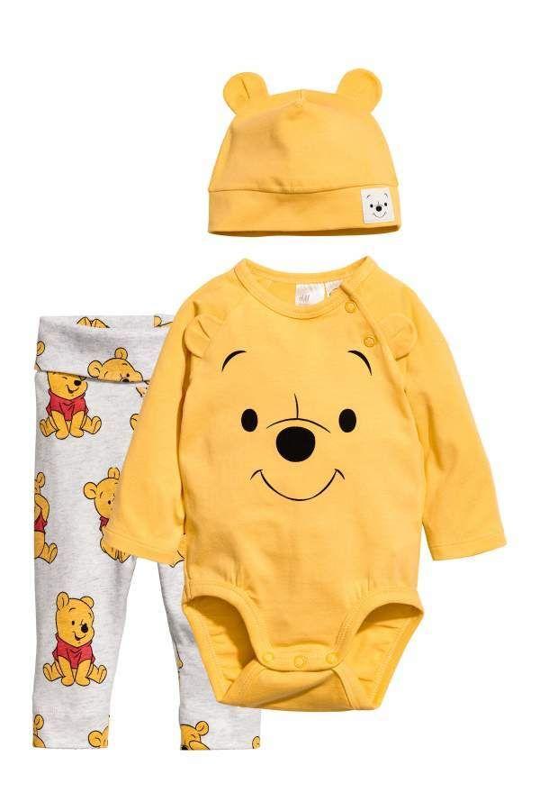 Winnie The Pooh Baby-Boys Bodies Set