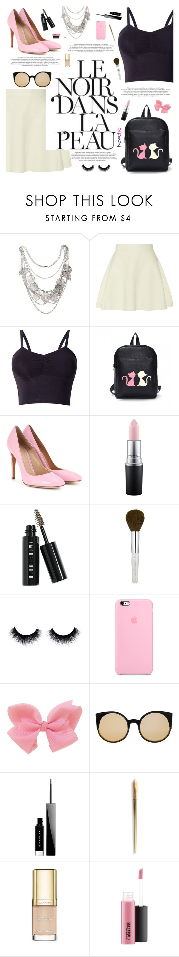 """Lovenewchic #26"" by katarinamm ❤ liked on Polyvore featuring 3.1 Phillip Lim, Gianvito Rossi, MAC Cosmetics, Bobbi Brown Cosmetics, RetroSuperFuture, Givenchy and Dolce&Gabbana"