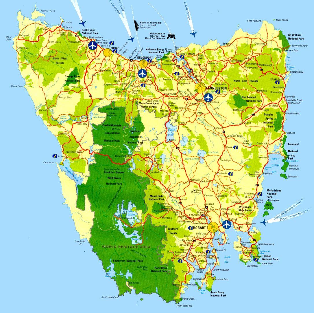 Map Of Tassie A map of Tassie | Australia | Tasmania, Australia, Map Map Of Tassie
