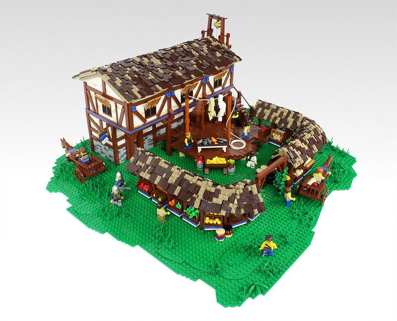Age Of Empires Ii Buildings In Lego Form Age Of Empires Lego