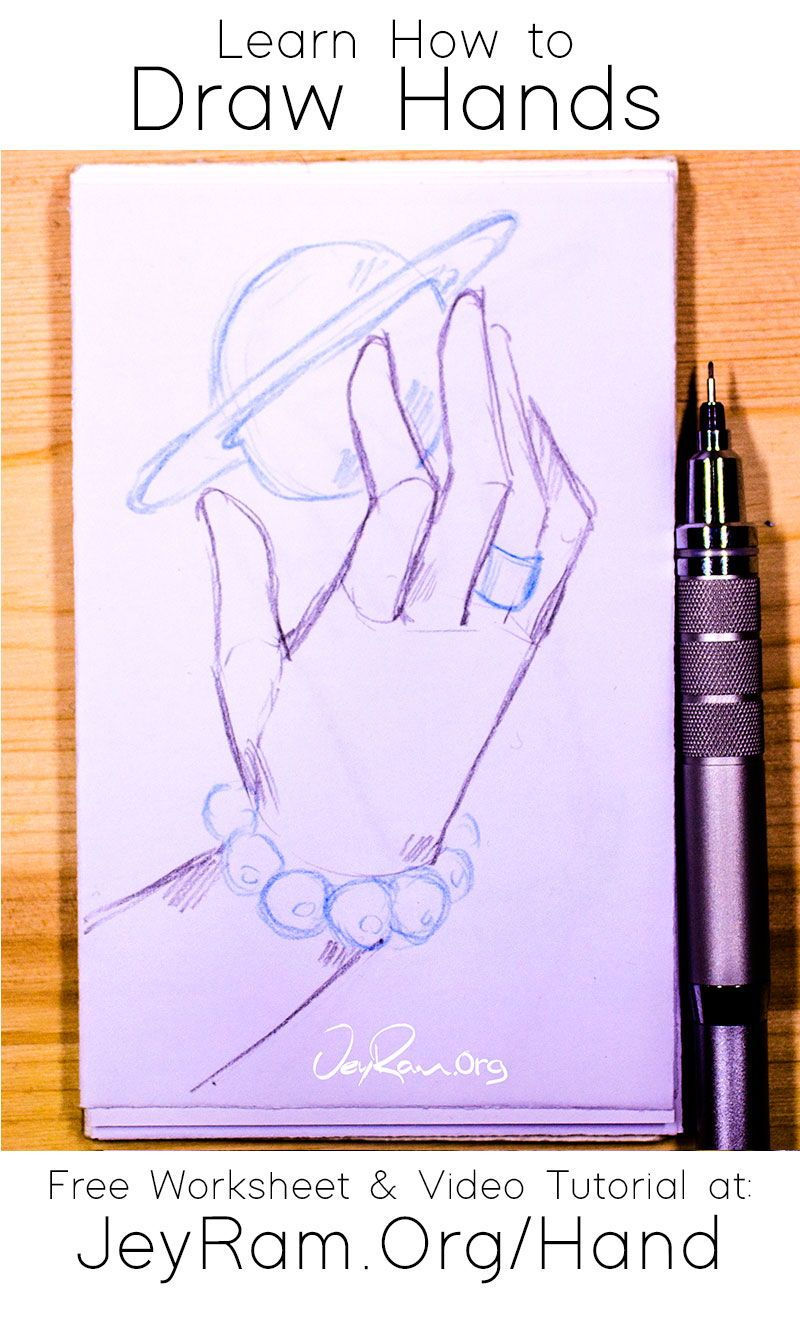 How To Draw Hands For Beginners In 2020 How To Draw Hands Free Hand Drawing Learn To Draw
