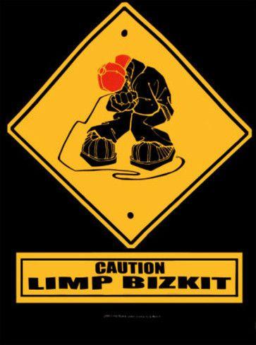 Limp Bizkit Music Band Logo Sticker Decal Vinyl Rock Nu-metal Emo Car