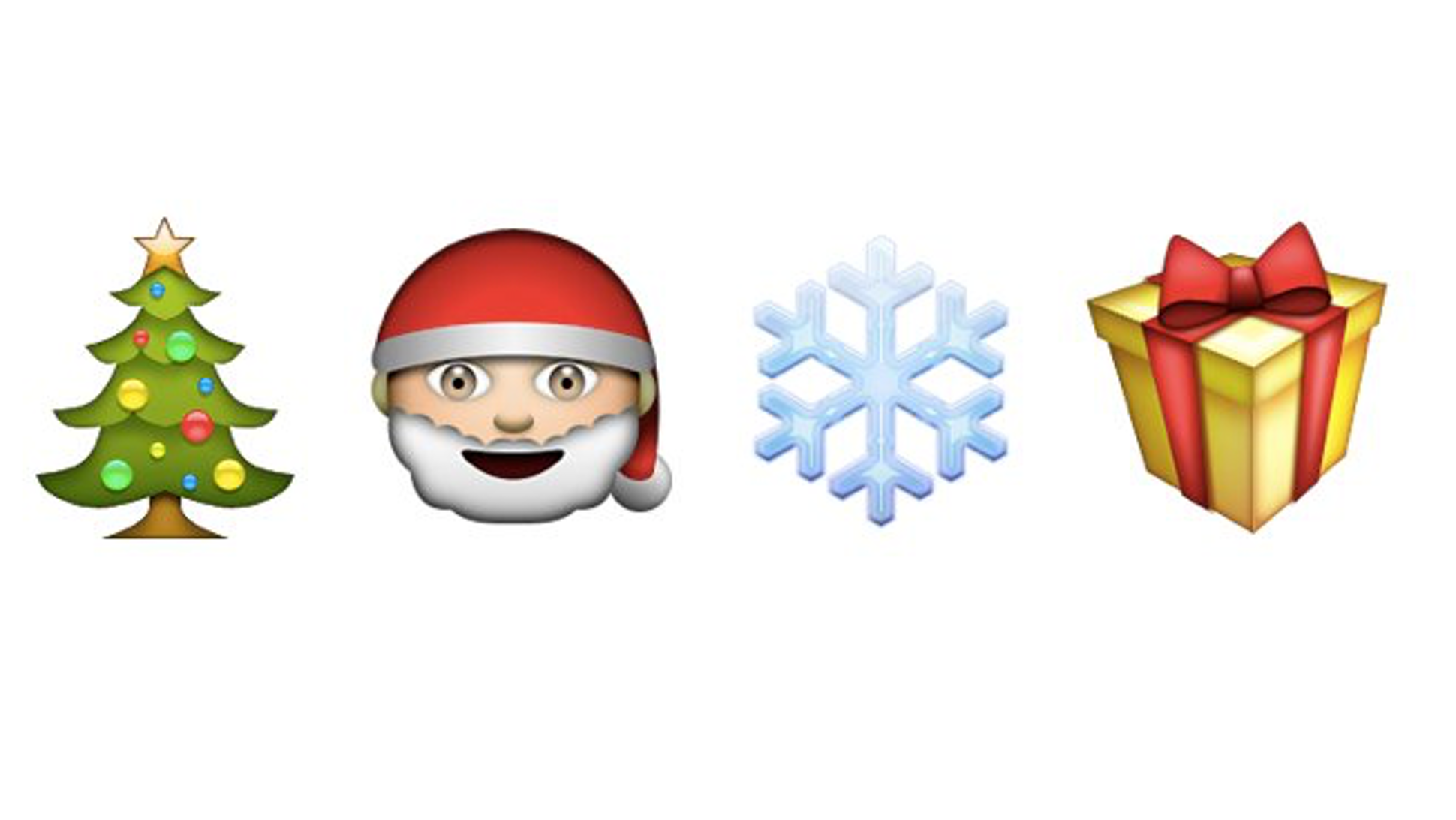 Guess These Holiday Songs Written Only in Emoji Holiday