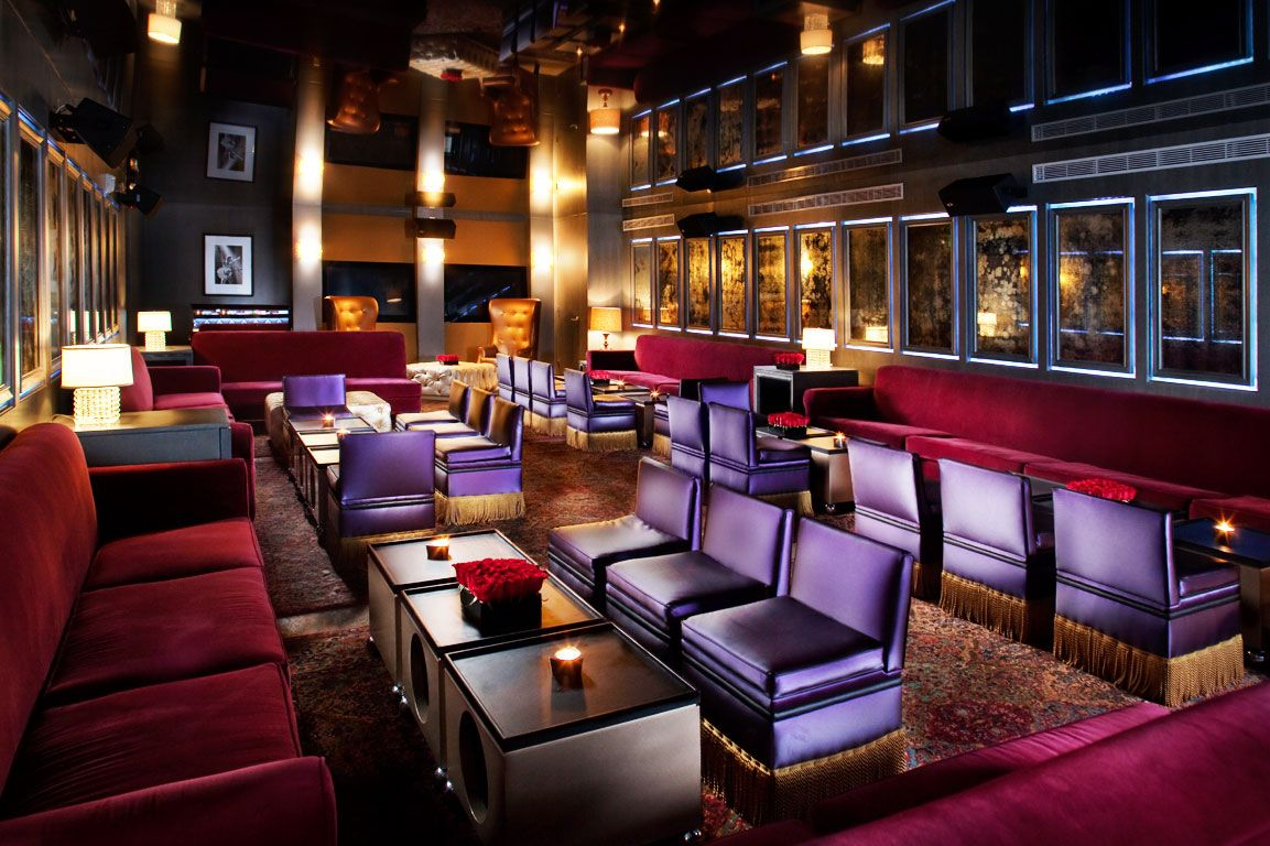 B Bar Nightclub Design Hotels Design Betsy Hotel