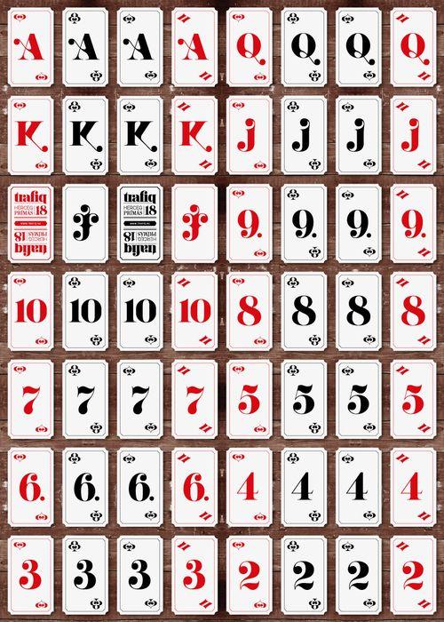 Trafiq Club Restaurant Bar Spielkartendesign Karten Design Spielkarten