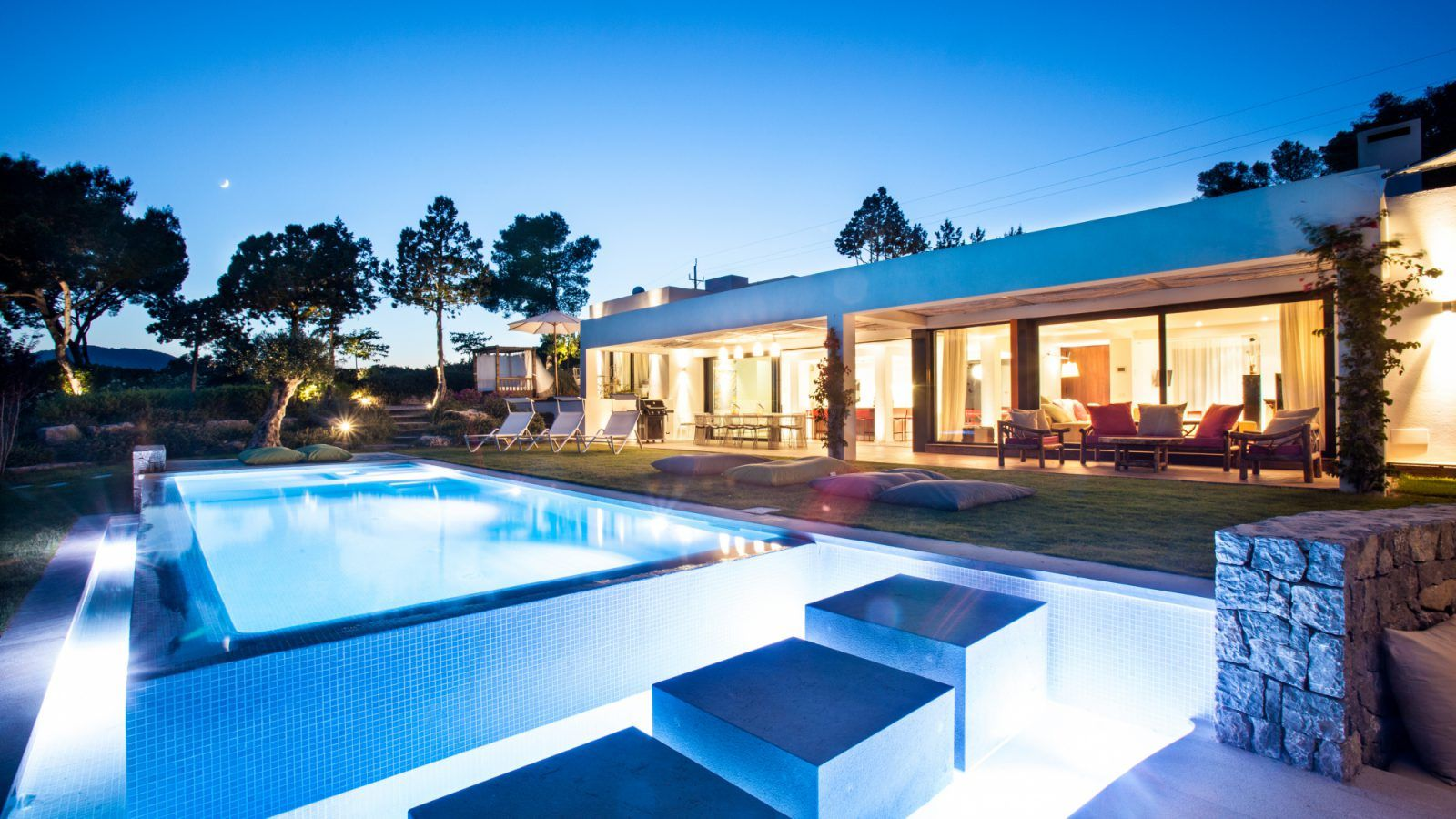 Luxury Villa For Rent In Ibiza Close Cala Jondal In The Best Area Of The Island Luxury Villa Luxury Estate Villa