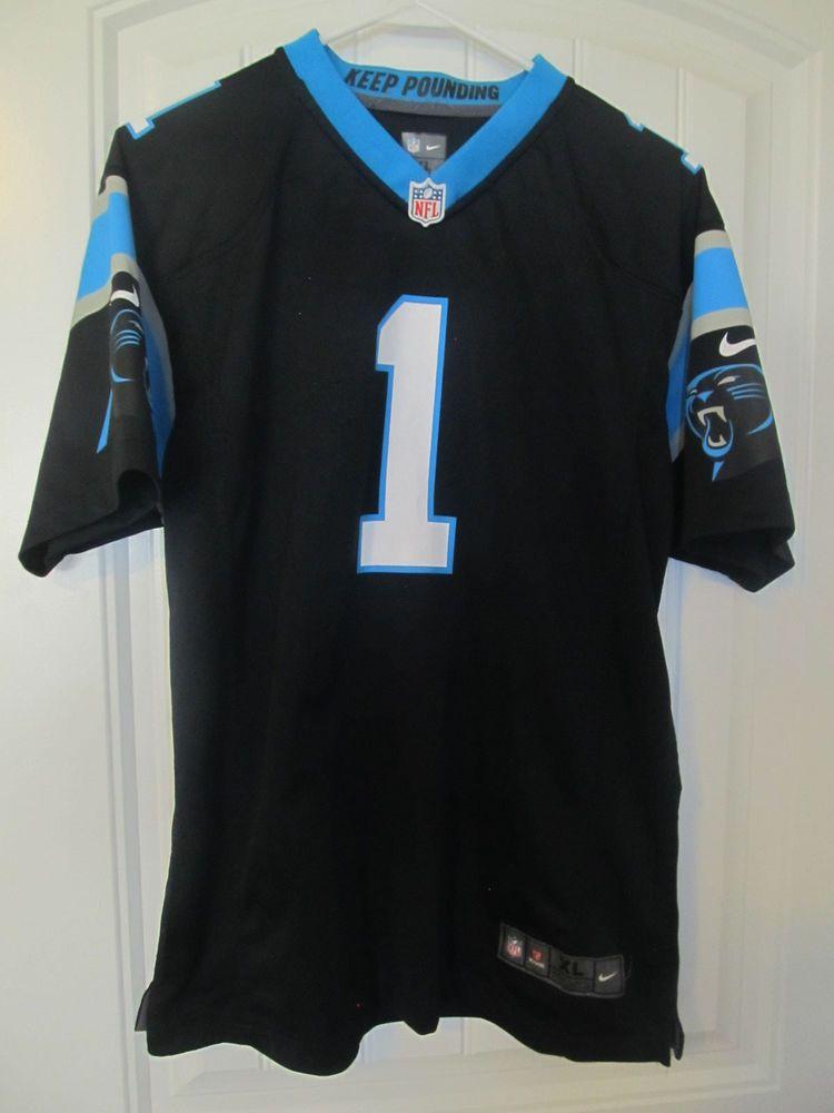 Cam Newton - Carolina Panthers Jersey - Nike Youth XL  Nike   CarolinaPanthers 6b8474c81