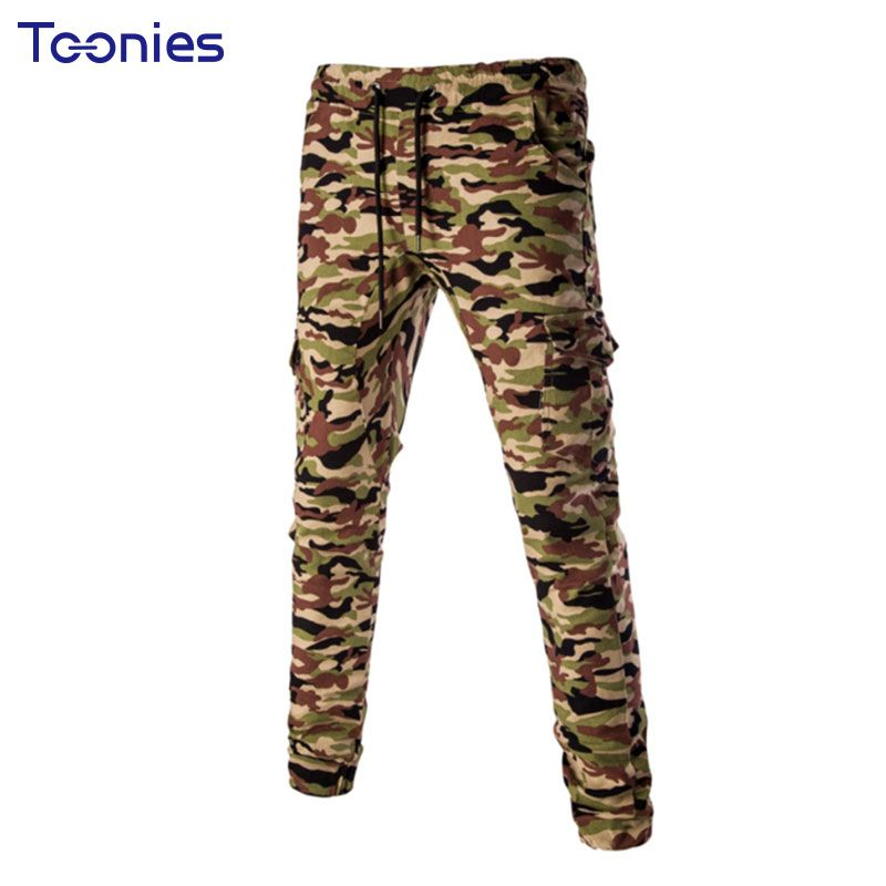 >> Click to Buy << 2017 Cargo Pants Men Spring Joggers Trousers Casual Camouflage Military Harem Pencil Pantalon Homme Army Style Pantalones Hombre #Affiliate
