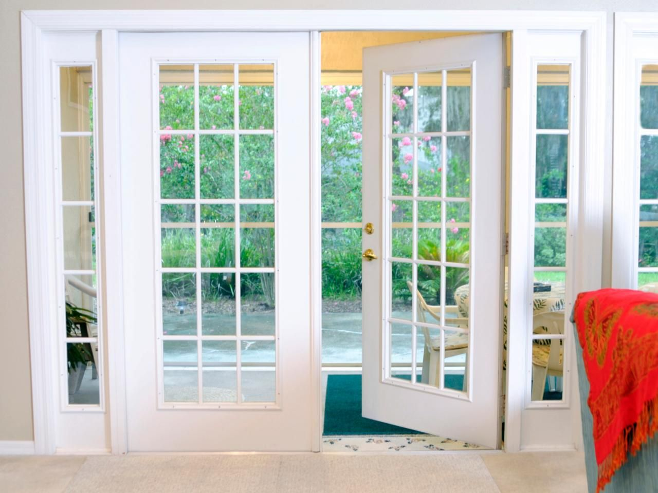 Replace your patio door with one from dayside call for Back door sliding door