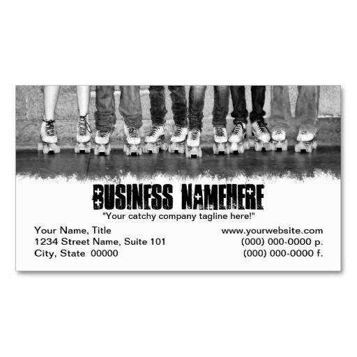 Roller skating business cards photography business cards photography business cards reheart Choice Image