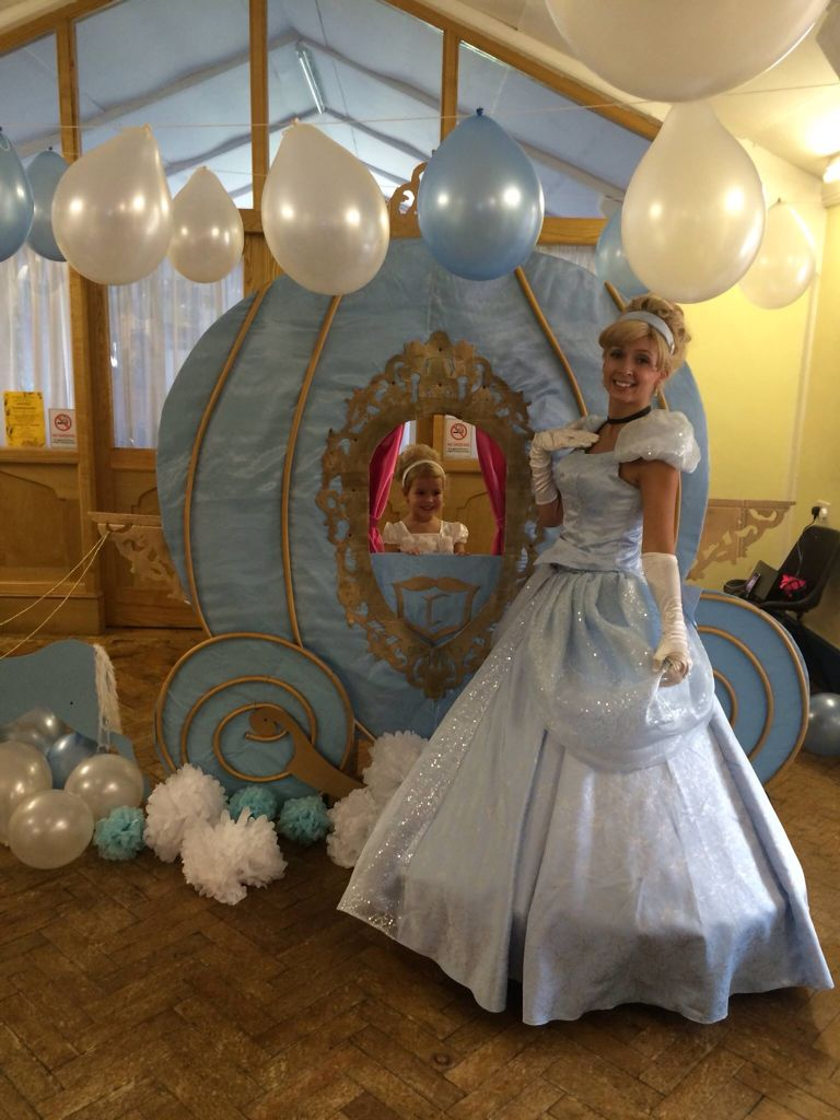 Cinderella Inspired Photo Prop Dress Baby Shower Gift