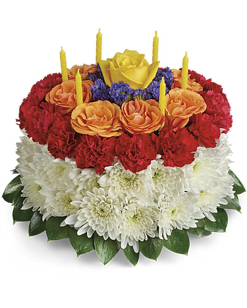 Your Wish Is Granted Birthday Cake Bouquet Happy