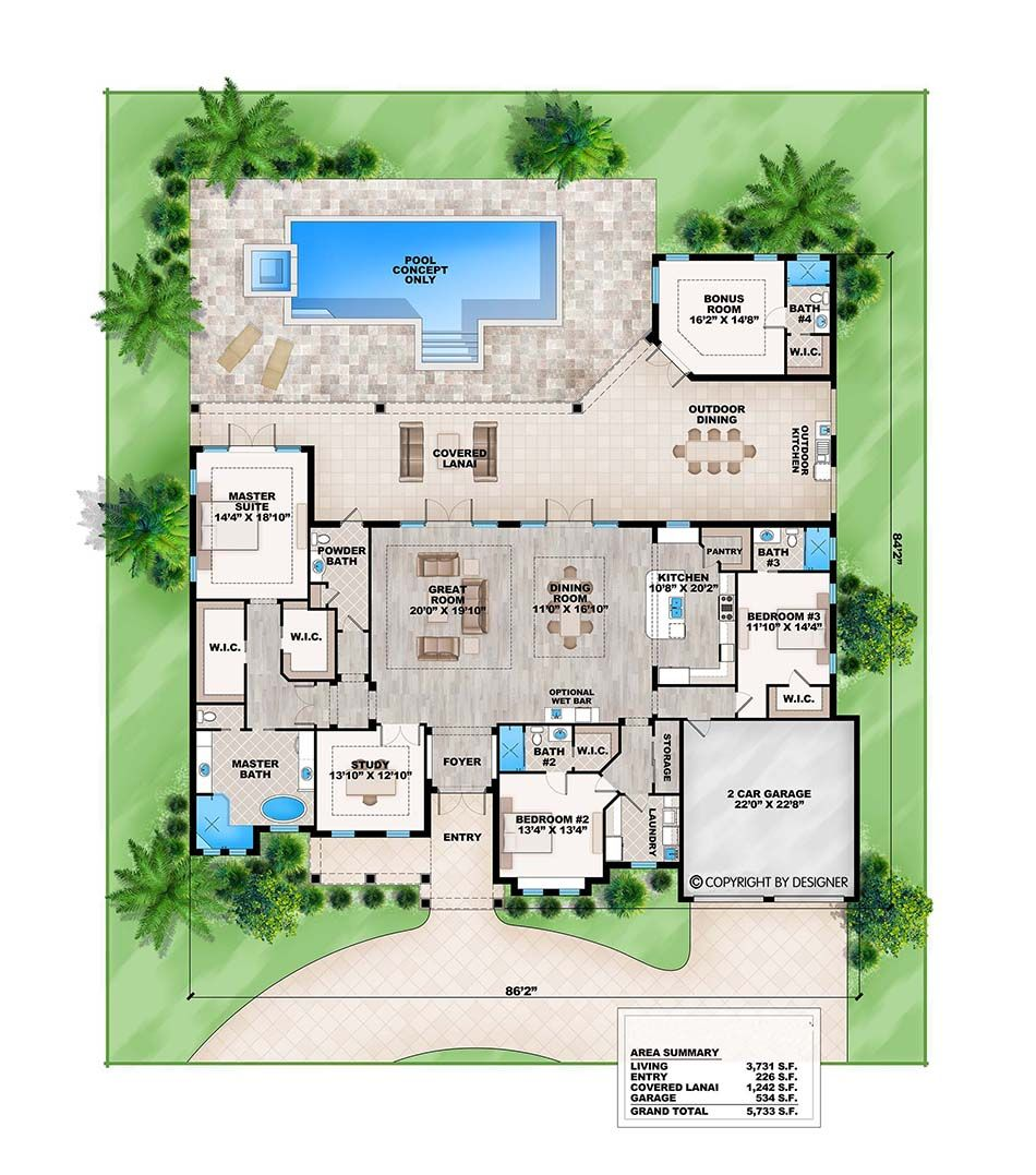 Distinctive House Plans Beach Coastal Caribbean House Plans Contemporary Modern House Plans St Pool House Plans Florida House Plans Contemporary House Plans