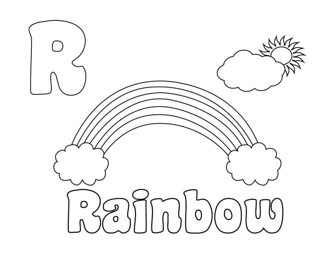Letter R Coloring Pages For Preschool Coloring Pages Free Coloring Pages Coloring Pages For Kids